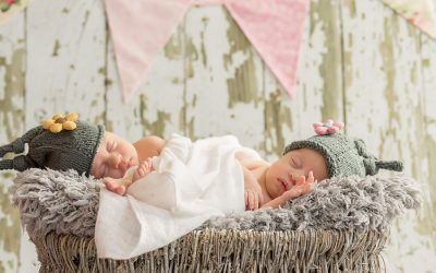 Emily & Isabella Newborn Shoot Pretoria Newborn Photograper