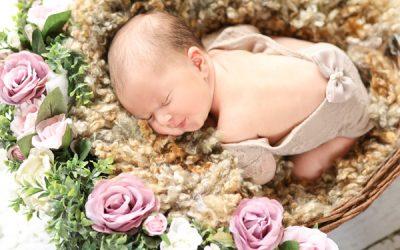 Allysa'a Newborn Photo Shoot